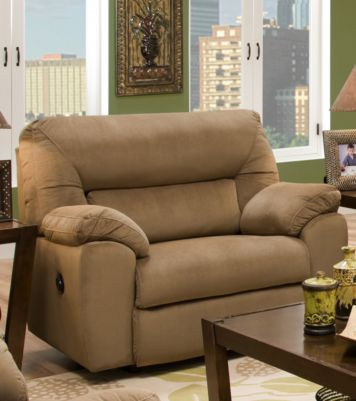 emerson chair u0026 a half recliner by franklin home gallery stores big comfy
