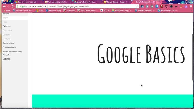 Embedding google slides into canvas youtube google