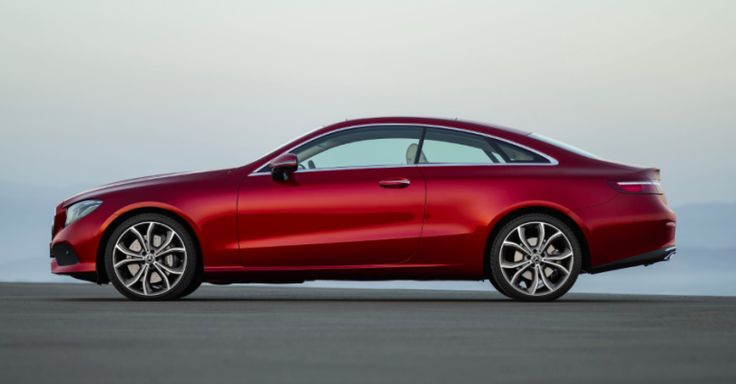 The 2018 Mercedes E-Class Coupe Is an E-Class With Two Fewer Doors