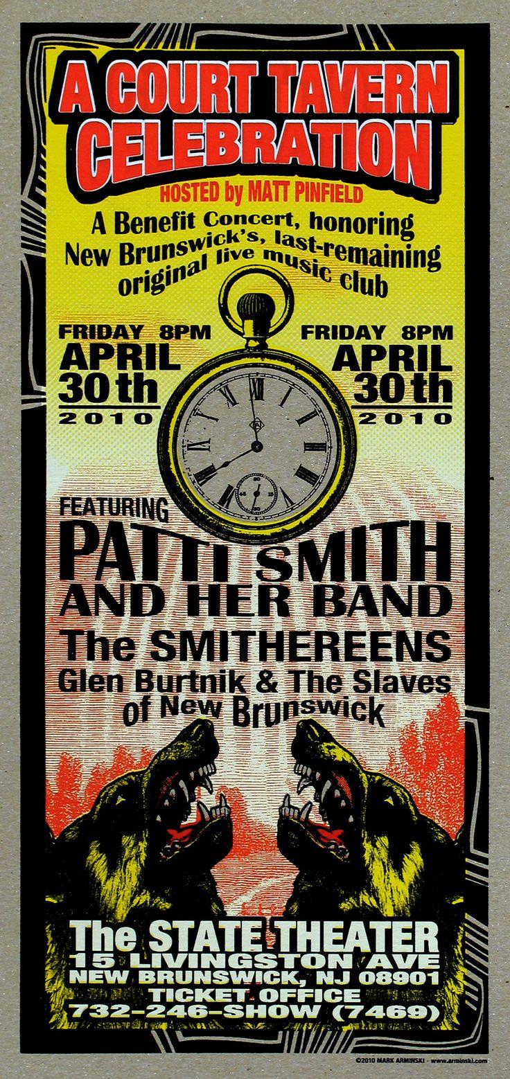 Patti Smith and Her Band, A Court Tavern Celebration | Mark Arminski
