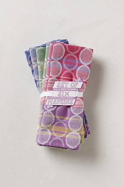 Spotted Jacquard Napkin Bundle #anthropologie