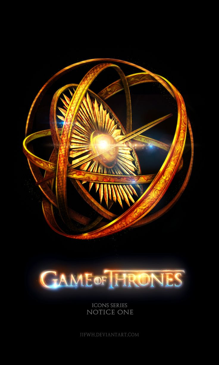 The Geeky Nerfherder: 'Game of Thrones' House Icons by Jie Feng