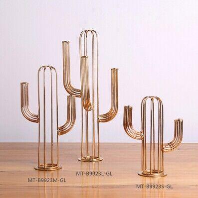 Goedkope Cactus Vorm Metalen Plating gold Staande Sculptuur Creative Metalen Ambachten voor Woonaccessoires Hoge Kwaliteit Handgemaakte Ornament, koop Kwaliteit metaal ambachten rechtstreeks van Leveranciers van China:  Producten omschrijving:Modelnummer: mt-b9923m-gl/mt-b9923l-gl/mt-b9923s-glGrootte: