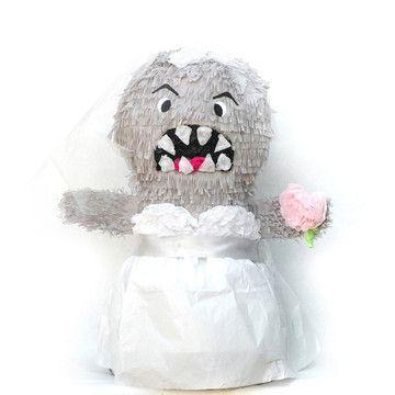 Bridezilla Pinata!! Great for a bridal shower!