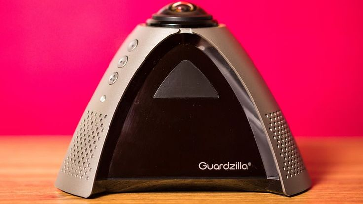 The Guardzilla 360 indoor security camera can see an entire room, but it isn't all that easy to use.