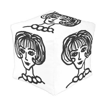 20s girl outdoor pouf - girl gifts special unique diy gift idea