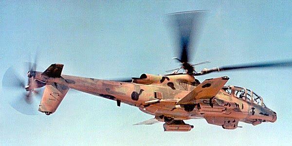 FDRA - Fuerza Aérea: Helicóptero de ataque: Lockheed AH-56 Cheyenne, nacido para correr