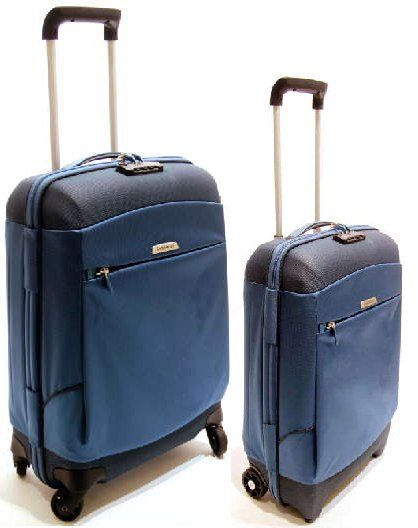 Samsonite Trolley Blu Set