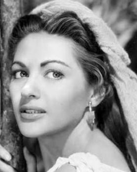 "Yvonne De Carlo (""Lily Munster"" :)!  http://projects.latimes.com/hollywood/star-walk/yvonne-de-carlo/"