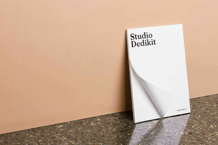 Branding for Studio Dedikit by Mildred & Duck See more: https://mindsparklemag.com/design/studio-dedikit-identity/  More news: Like Mindsparkle Mag on Facebook