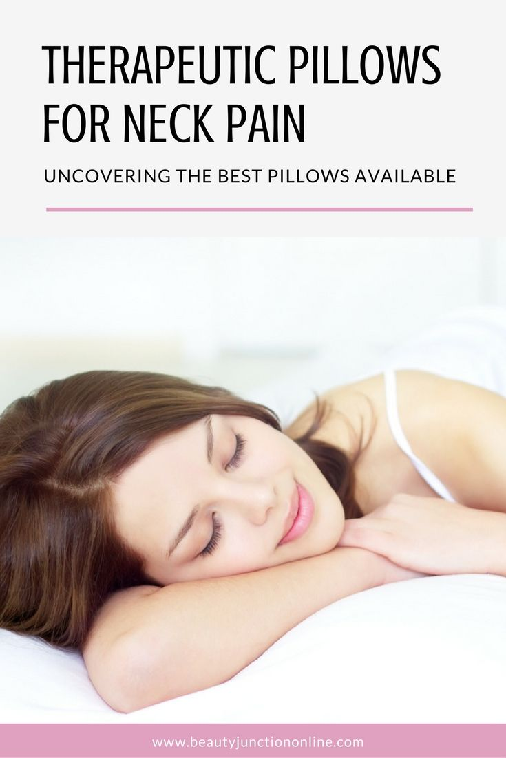 25 best ideas about therapeutic pillows on pinterest for Best pillow for neck and shoulder tension