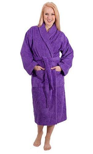 3aecaa8489 Luxury Terry Cloth Hotel Bathrobe