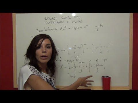 QUIMICA Enlace covalente, regla del octeto y estructuras de Lewis