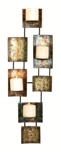 metal wall art candles - Candle Wall Decor