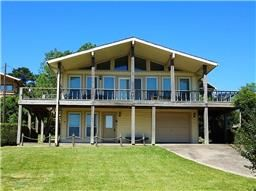 Water view home for sale in Coldspring Terrace with amazing views of Lake Livingston 211 Lakeway Dr, Coldspring TX  77331