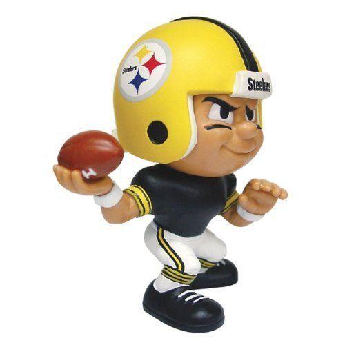 NFL Lil' Teammates Series 2 Pittsburgh Steelers Throwback Quarterback Figurine #PartyAnimal #PittsburghSteelersThrowbackUniform