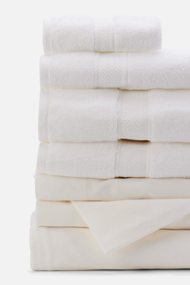 Move In Bundle Washing Clothes Cotton Bedding Hand Towels