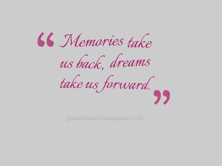 memories take us back