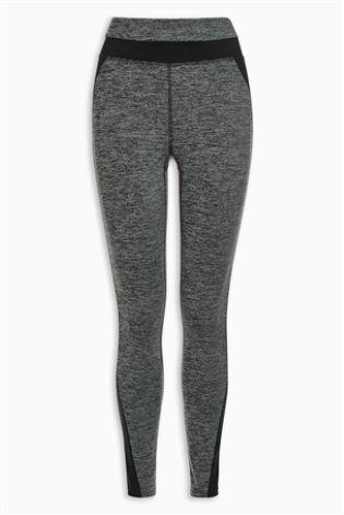 Grey Tech Full Length Leggings