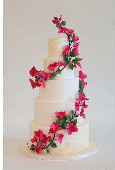 Allie - HEARTSWEET CAKES | PHX, AZ - Sugar bougainvillea flowers