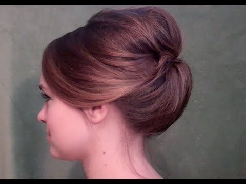 i think this is so classy and pretty.  like her tutorials too. #BouffantHairClassy