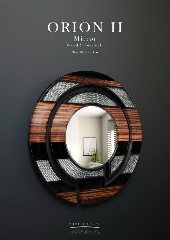 orion mirror pont des arts studio designer monzer. Black Bedroom Furniture Sets. Home Design Ideas