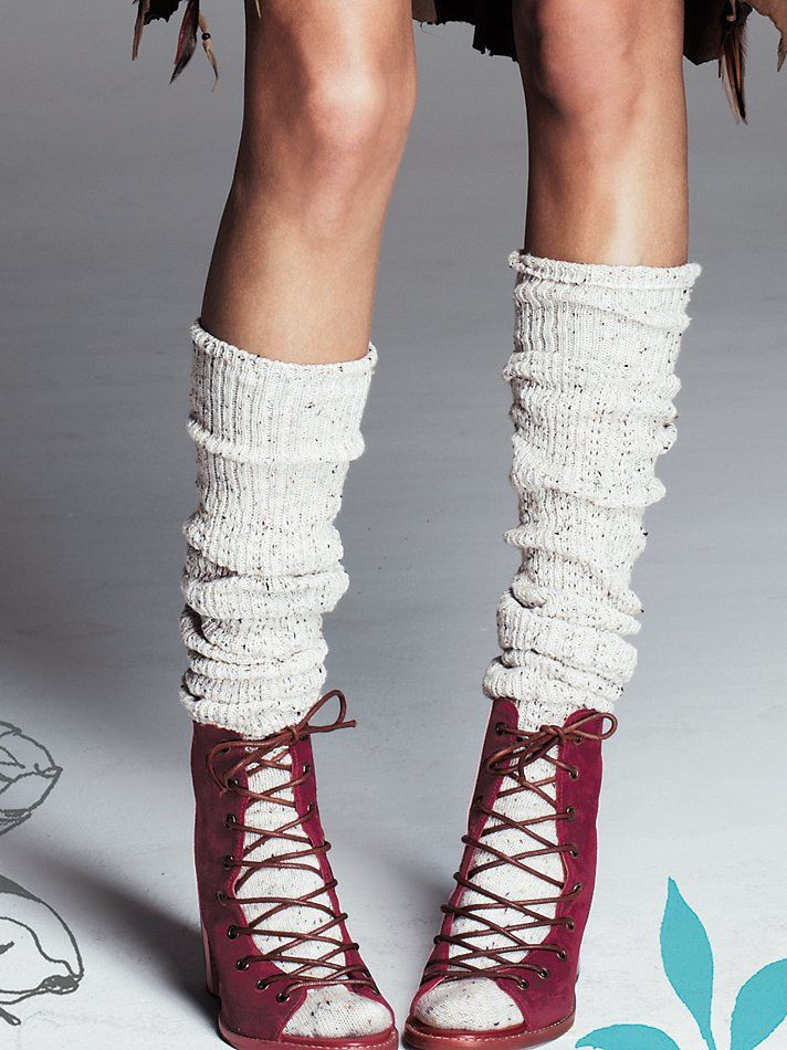 Free People Speckled Slouch Tall Sock, 24.00