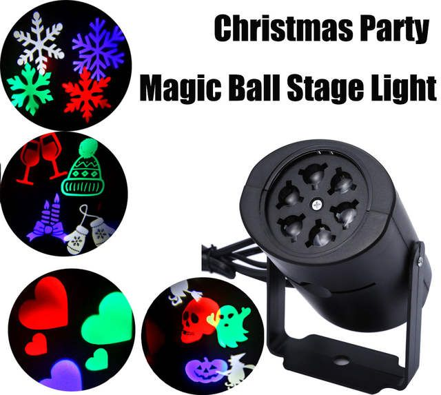 Led Stage Light Laser Projector Lamps Heart Snow Spider Bat Christmas Party Landscape Light Garden Lamp Outdoor Lighting In 2020 Led Stage Lights Garden Lamps Stage Lighting