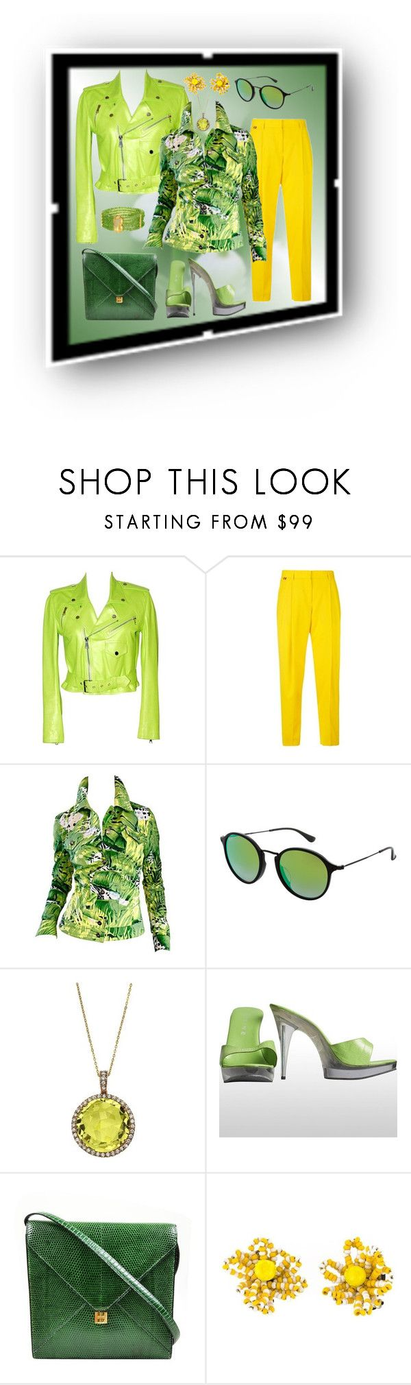 """my  fav set"" by georgine-d ❤ liked on Polyvore featuring Ralph Lauren, Paul Smith, Ray-Ban, Emilio!, Hermès and Christian Lacroix"