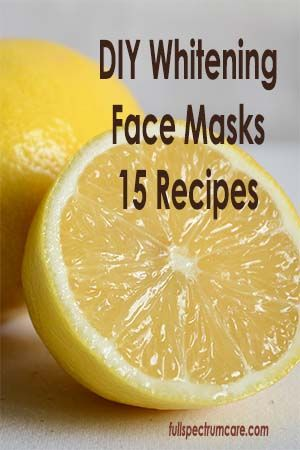 Want toned, refreshed, even complexion? 15 DIY Whitening Face Mask Recipes