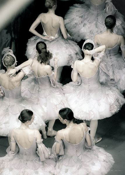 Ballerina Beauty. The perfect combination of soft and ethereal with strong and powerful.