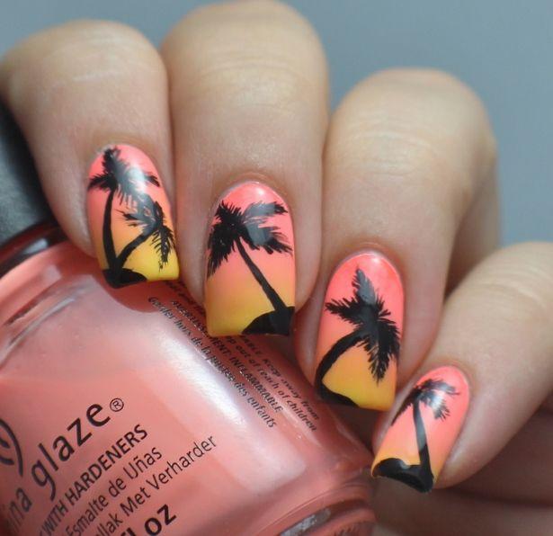 Dreaming About Nails: Jättimäisiä palmuja