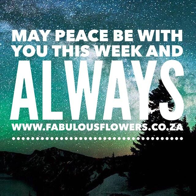 """#peacebewithyou #peacebeginswithme #fabulousflowers"""