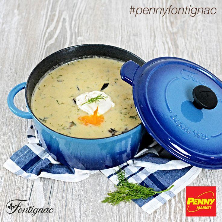Uvařte si kulajdu se ztraceným vejcem v kulatém litinovém kastrolu značky Fontignac, který nyní v PENNY můžete získat se slevou až 63 %! Celý recept najdete na http://www.penny-fontignac.cz/recepty/detail/kulajda-se-ztracenym-vejcem. Dobrou chuť!    #penny #pennycz #pennymarket #pennymarketcz #pennyfontignac #fontignac #nadobi #nadobifontignac #kuchyne #vareni #peceni #recept #mnam #jidlo #polevka #kulajda