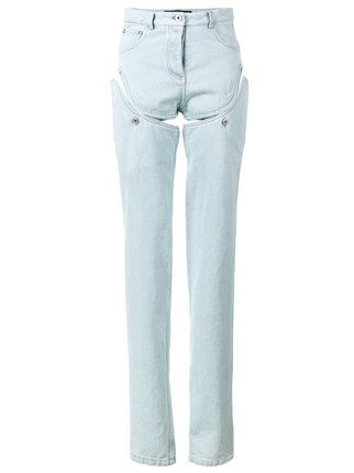 Y / Project high waisted convertible jeans