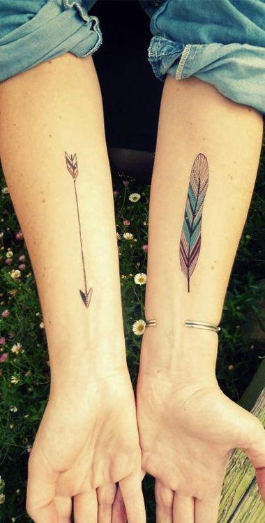 Boho tattoo