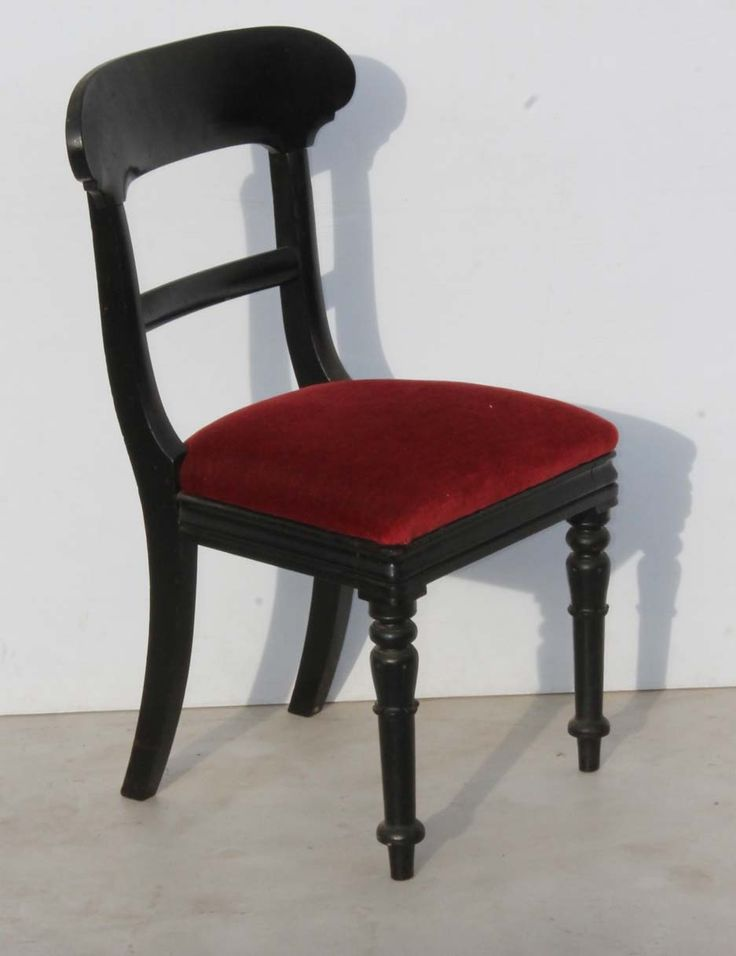 Black Antique Dining Room Chair with Turned Legs Condition:  Used  Black Antique Dining Room Chair with Turned Legs  size: 450 L x 400 W x 900 H  R999  Cell 076 706 4700  Tel 021 - 558 7546  www.furnicape.co.za