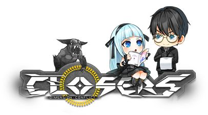 Closers Online Logo Violet Edition