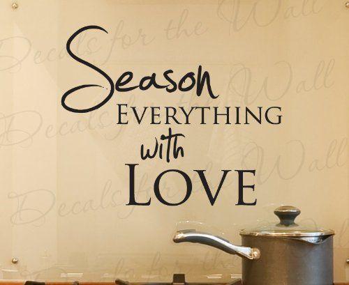 13 best kitchen quote images on pinterest | kitchen walls, kitchen
