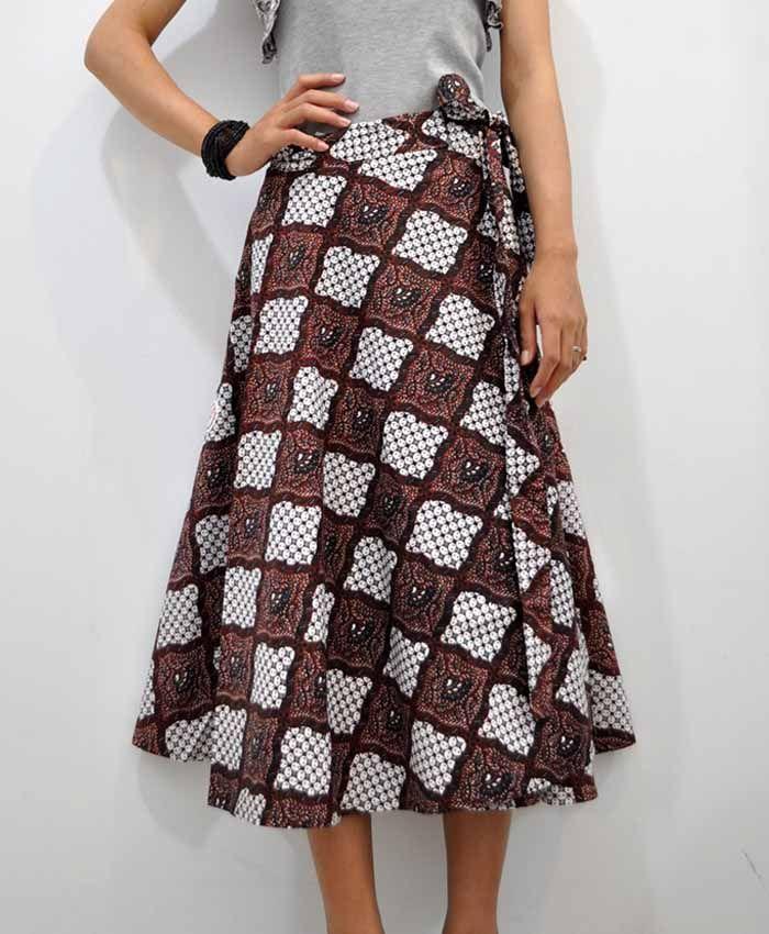Batik Skirt by batiksurya.com
