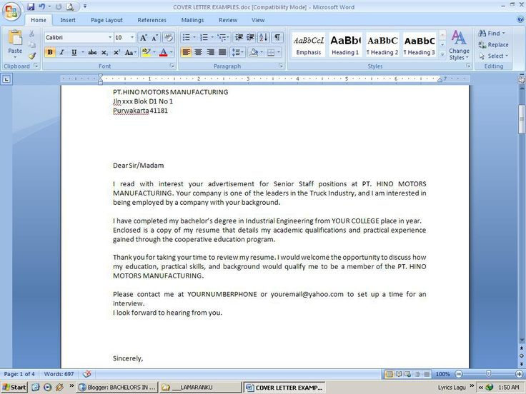 resume cover letter email format body emailing leading - what should a cover letter look like