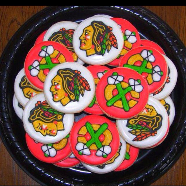 52 Best Chicago Blackhawks Cakes Images On Pinterest