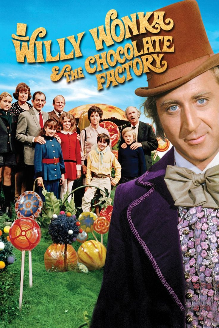 Willy Wonka and the Chocolate Factory (1971) Gene Wilder, Jack Albertson, & Peter Ostrum... My favorite Movie!!