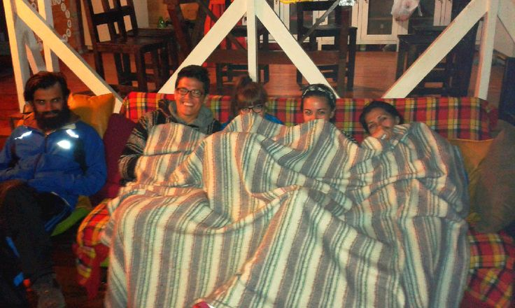 Y quien dijo que el frio es una excusa para no disfrutar? No en el Hostal Rancho Rueda Libre en Santa Elena, Medellin, Colombia.