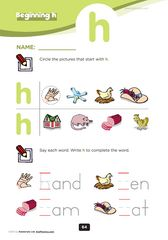 Kindergarten Level 1 Phonics Worksheets « KizPhonics