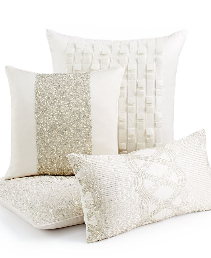 Hotel Collection Mulberry Decorative Pillows : Hotel Collection Luster View of a Room Pinterest Shops, Pillow beds and Decorative pillows