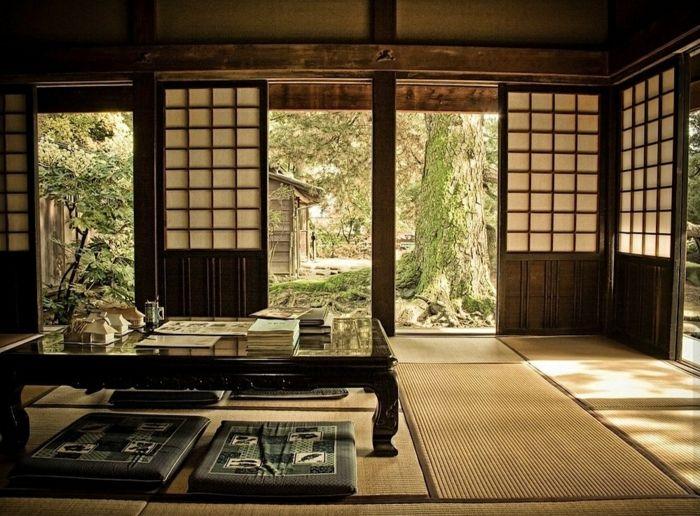 les 25 meilleures id es de la cat gorie porte coulissante style japonais sur pinterest cran. Black Bedroom Furniture Sets. Home Design Ideas
