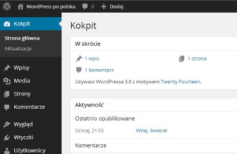 WordPress › Polska