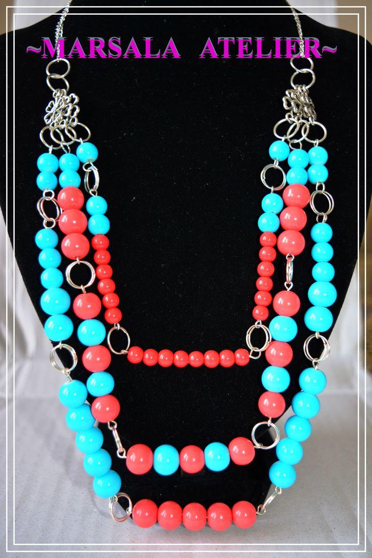 Marsala Turquoise Necklace
