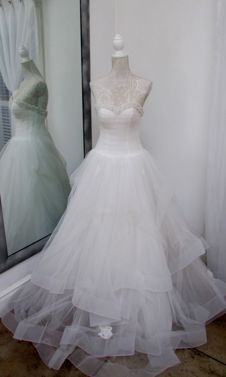 Our Cinderella dress......feel like a princess when you wear this dress on your wedding day....